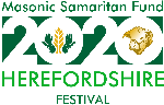 Donate here to the Herefordshire 2020 Masonic Samaritan Fund Festival